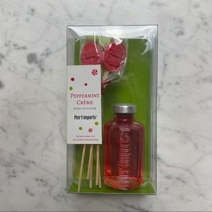 NWT Pier 1 imports Peppermint Crème Reed Diffuser